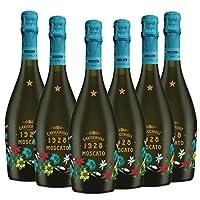 Cavicchioli 意大利之花莫斯卡托起泡葡萄酒(甜型) 750ml*6(意大利进口葡萄酒)