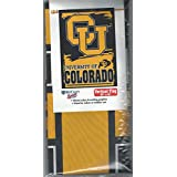 CampusHats 科罗拉多大学水牛队 Boulder Buffs 黑金队户外/尾板旗帜/横幅 68.58 厘米 x 104.14 厘米