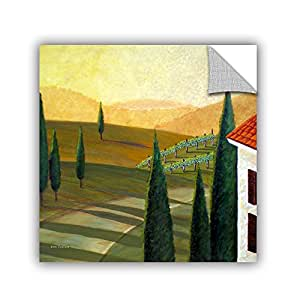 "ArtWall Herb Dickinson's Tuscany Vinnicola Art Appeelz Removable Graphic Wall Art, 36 x 36"""