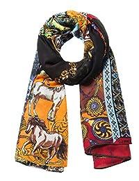 Desigual 女式 Foul_manuela 围巾(纳拉尼亚7002),均码(制造商尺码:U)