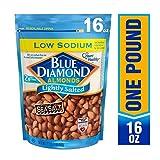Blue Diamond Almonds 低钠盐杏仁,16盎司(452.8克)