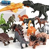 拇指奇特 儿童恐龙玩具 仿真软胶模型塑料动物 侏罗纪霸王龙摆件3-4-6岁