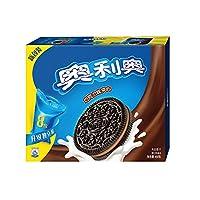 奥利奥 夹心饼干巧克力味家庭装466g