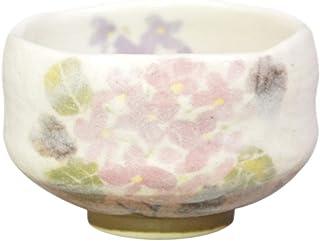 丰窑(Yutakagama) 抹茶碗 紫色 尺寸:直径9.6x高6cm 小碗 紫阳花