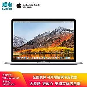 【618年中大促】Apple MacBook Pro 15.4英寸笔记本电脑 配备Touch Bar和Touch ID 2.2GHz 六核第八代 Intel Core i7 处理器 16GB 256GB固态硬盘 MR962CH/A 银色 套装含13/15英寸尼龙电脑包 可开增值税专用发票