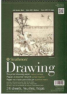 Strathmore 系列 400 高级再生绘画垫(22.86 厘米 x 12英寸(约30.5厘米)