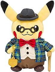 口袋妖怪中心原創 毛絨玩具 紳士風的皮卡丘