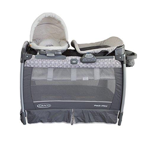 GRACO 葛莱婴儿床便携式儿童游戏床 午睡尿布更换台 (灰) 1896392