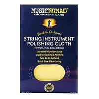 Music Nomad String Instrument Premium Microfiber Polishing Cloth for Violin, Viola, Cello & Bass
