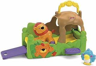 Fisher-Price 神奇动物卷起哈比手提包狮子组合