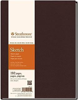 Strathmore 297-9 400 系列精装艺术日记簿,13.97 厘米 x 20.32 厘米,96 张