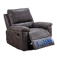 芝华仕 头等舱功能沙发 单人沙发 欧美式布艺客厅沙发8908手动可躺可摇可转 深灰色(标价仅为商品价格,如需运送/安装,请咨询客服具体费用。咨询电话:400-688-9099 QQ:648538692/3478725759)(亚马逊自营商品, 由供应商配送)