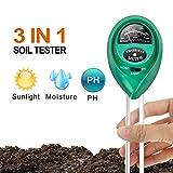 iPower 6 件装 1/8 英寸 8 英尺长,可调节重型 Soil Tester 绿色 LGTESTSOIL