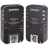 Yongnuo YN622 °C II - Canon 2收发器套装(TTL,HSS,7通道)- 黑色