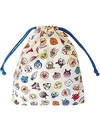 伊藤产业 面包超人 替换布袋 全明星/蓝色 25.5×29厘米 ANC-850