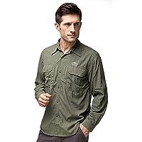 Topsky 远行客 户外 男款 长袖速干衬衣快干衣速干衬衫 T10505