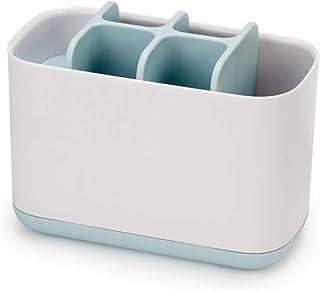 Joseph Joseph 浴室简易牙刷架 白色/蓝色 大号