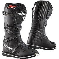 TCX X-Blast 男士越野摩托车靴 - 黑色/43