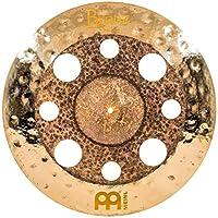 Meinl Cymbals Byzance 50.8 cm 双垃圾撞 带孔 — 土耳其制造 — 手工锤打 B20 青铜色,2 年质保 (B20DUTRC)