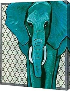 "PrintArt GW-POD-48-WC1512-16x20 ""大象""由 Shanni Welsh 创作画廊装裱艺术微喷油画艺术印刷品 32"" x 40"" GW-POD-48-WC1512-32x40"