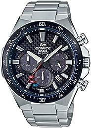 Casio 卡西欧 男式 模拟经典石英手表不锈钢表带 EFS-S520CDB-1AUEF