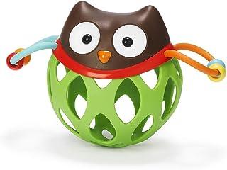 SKIP HOP 探索系列 婴儿摇铃滚动玩具,猫头鹰