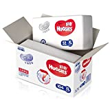 HUGGIES 好奇 银装 纸尿裤 尿不湿 箱装 XL104片(适合12-16公斤) 包装更新中