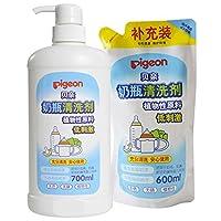 PIGEON 贝亲 奶瓶 清洗剂促销装 1300ml MA27+MA28