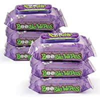 Boogie Wipes Saline Nose Wipes, Great Grape, 30-Count (Pack of 6)