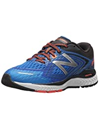 New Balance Boys' KJ860NGY Running Shoe Navy/Grey 2 Wide US Little Kid
