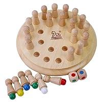 木马智慧 木质婴幼益智积木玩具 棋类 29101