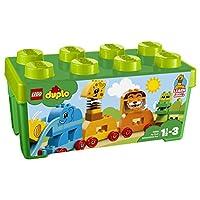 LEGO 乐高  拼插类 玩具  DUPLO 得宝系列 我的创意动物大巡游 10863 1½-3岁 婴幼