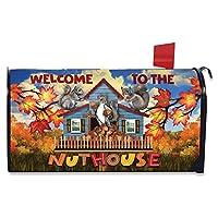 Briarwood Lane Nuthouse 秋季磁性邮箱盖 Welcome Autumn Standard