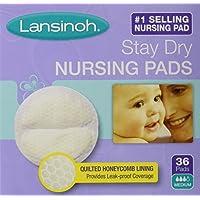 Lansinoh 20236 Disposable Nursing Pads, 36-pack Pack of 2