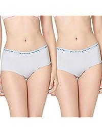 SCHIESSER 舒雅 两条装 女式 舒美棉系列 平角内裤