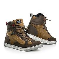 Shima SX-2 男士复古意大利运动鞋 Urban City 摩托车靴 48 棕色 SX-2 BROWN 48