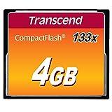 Transcend 133x CompactFlash Memory Card TS2GCF133 Transcend 133x CompactFlash Memory Card TS2GCF133 4 GB