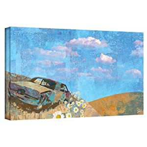 Art Wall 'Rusted' Gallery Wrapped Canvas Art by Greg Simanson, 16 by 32-Inch