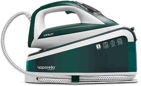 Polti Vaporella Express VE30.20 高性能蒸汽发电机,8巴泵,一个温度,适用于所有纺织品和数字设置,蒸汽 240克/分钟,加热1分钟