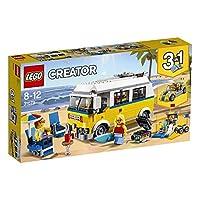 【爆款直降】【NEW 上新 1月新品】 LEGO 乐高 拼插类玩具 Creator 创意百变组 阳光海滩房车 31079 8-12岁 积木玩具