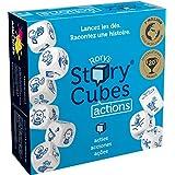 Asmodée - Rory's Story Cubes Actions,ASMRSC02ML1,蓝色