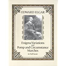 Enigma Variations and Pomp and Circumstance Marches in Full Score (Dover Music Scores) (English Edition)