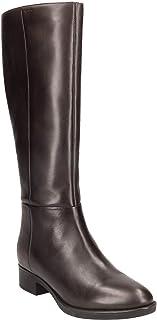 Geox 女士 D Felicity D 高筒靴 棕色(咖啡色 C6009) 4.5 UK
