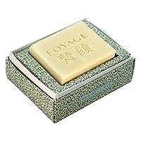 FOYAGE 梵颜 啤酒姜汁洗发皂 Shampoo Soap 80g 天然冷制手工皂控油固发 去矽灵(固体洗发水)(无硅)
