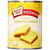 Wilderness Pie Filling & Topping, Lemon Creme, 21 Ounce (Pack of 8)