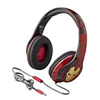 Avengers Iron Man Vi-M40IM Over-the-Ear Headphones with Built-in Microphone