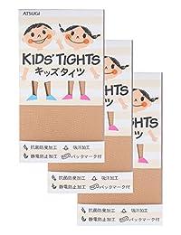 (厚木) ATSUGI 儿童连裤袜 【日本制】 KID'S TIGHTS(儿童连裤袜) 50D 连裤袜〈3双装〉