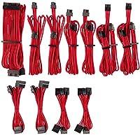 Corsair PSU Corsair PSU 高級獨立袖子 PSU 線纜 Pro 套件 - 紅色,2 年保修