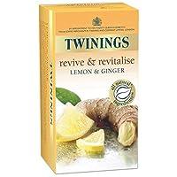 Twinings 川宁柠檬生姜茶包(20个装)