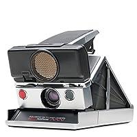 Polaroid Originals - 4698 - SX-70 - 自动对焦即时图像相机 - 银色 - 黑色
